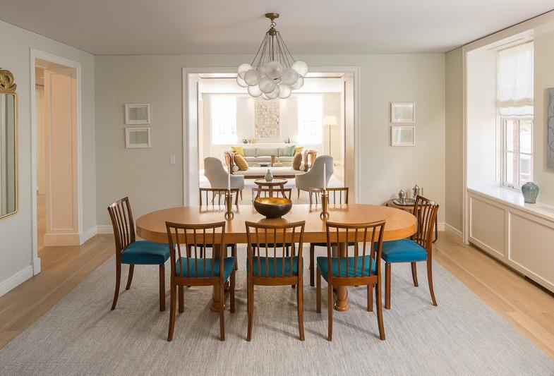 Living and Dining area - The Abington West Willage Manhattan