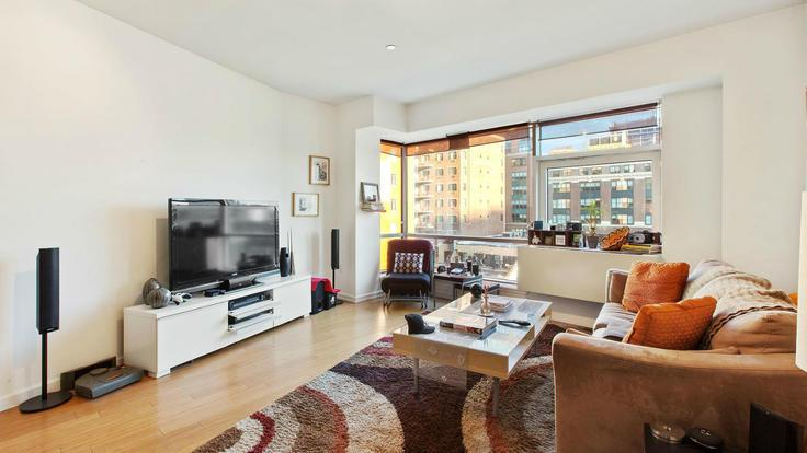 Living-room at 24-15 Queens Plaza North - LIC Condominiums for Sale