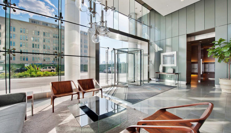 Lobby- Two Northside Piers- condo for sale in Williamsburg
