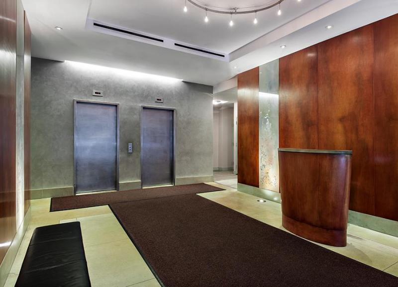 Lobby at 242 East 25th Street in Kips Bay