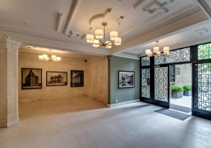 Lobby- The Strathmore- nyc condo for sale
