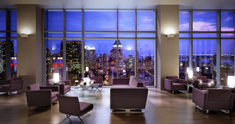 The Sheffield 57 Lounge - Midtown West NYC Condominiums