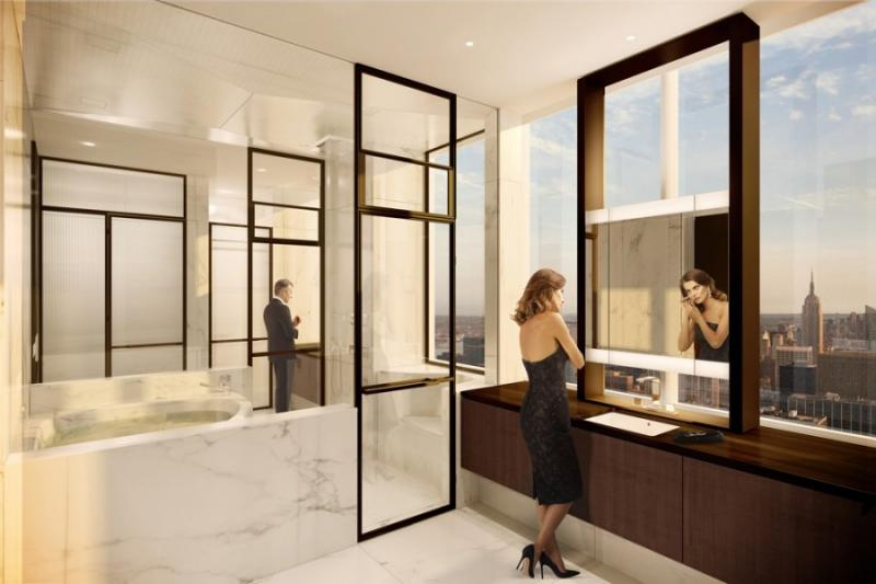 One57 - NYC Condos - Bathroom - Luxury Apartments for Sale in NYC