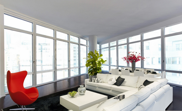 Living Room-  207 East 57th Street- NYC condo for sale