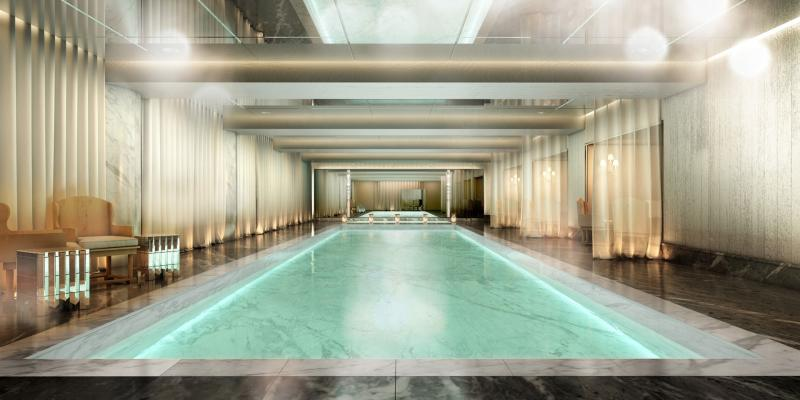 Pool - The Baccarat Hotel and Residences - Midtown West