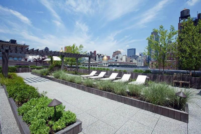 Roof Deck - The Cammeyer NYC Condos - 650 Sixth Avenue