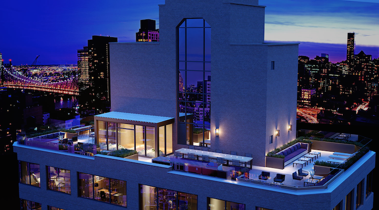 SIXTYFOUR at 300 E 64th Street Roofdeck View Apartments for Sale