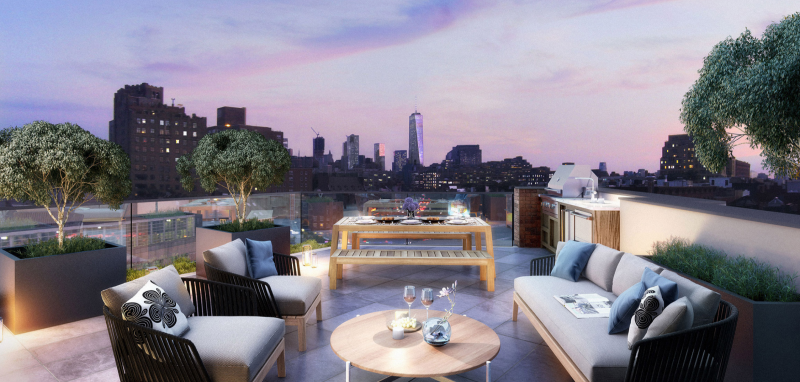 Roofdeck -175 West 10th Street Condos - West Village