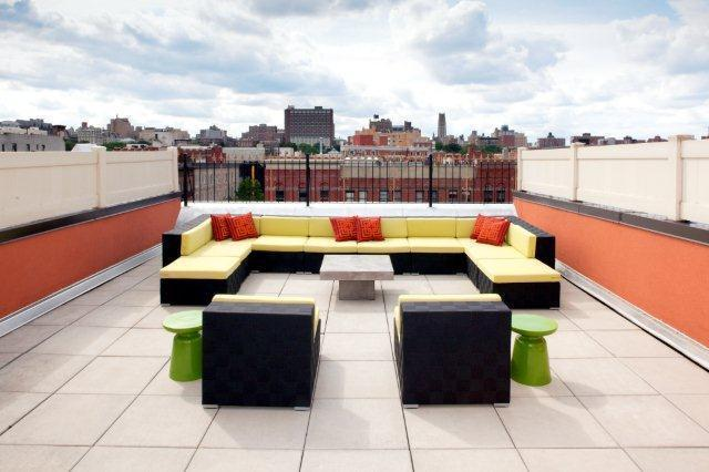 Rooftop Deck - 159 West 118th Street - Harlem