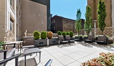 Rooftop Deck - The Laureate - Upper West Side - NYC Condos