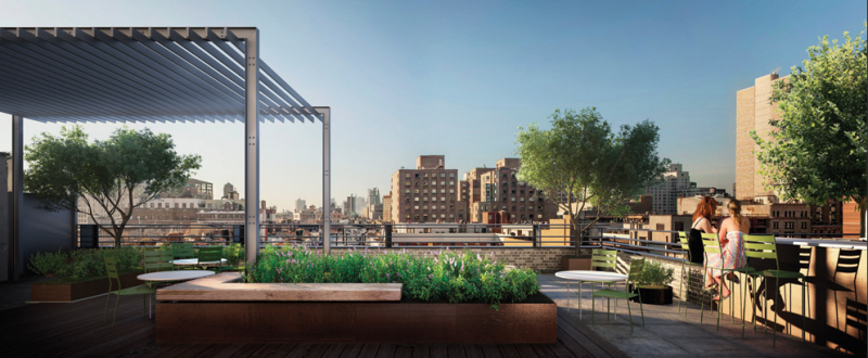 The Jefferson - 211 East 13th Street - Terrace - Manhattan Condos for Sale