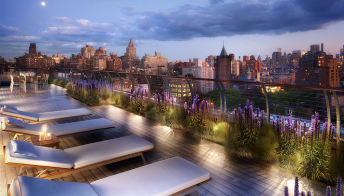 Rooftop Deck - 130 West 12th Street - Greenwich Village