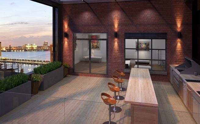 Terrace - 449 Washington Street - Tribeca