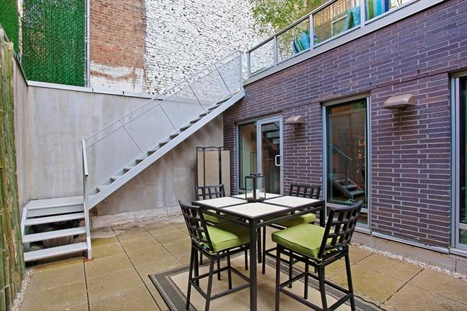 Slate Condominiums NYC Condos - 165 West 18th Street Apartments for Sale Terrace