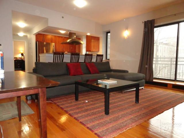 Strivers West Living Room - Manhattan Condominiums for Sale