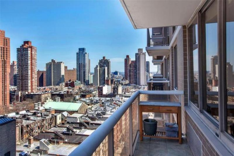 View from the Private Balcony at 200 East 89th Street