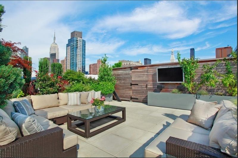 The Clement Clarke NYC Condos – 140 West 22nd Chelsea Rooftop