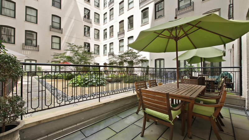 The Grand Madison Outdoor Area - Gramercy Park NYC Condominiums