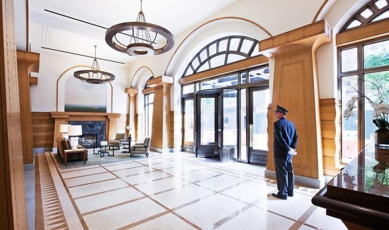The Harrison Entryway - 205 West 76th Apartments for Sale in Upper West Side