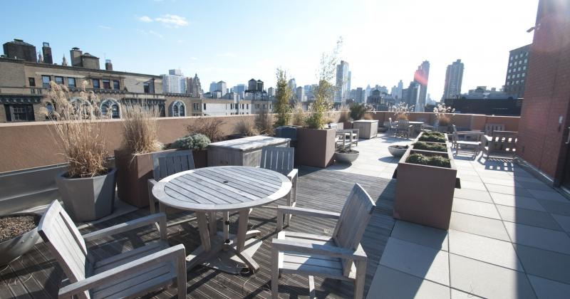The Heritage at Trump Place Condominiums - Rooftop