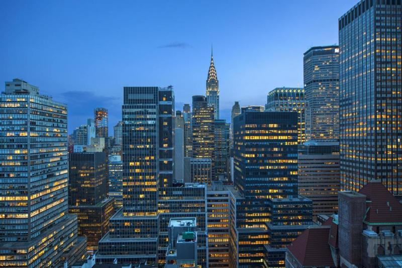Stunning view from 145 East 48th Street in Manhattan