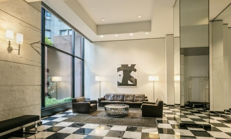 The Building's Lobby at The Paladin in Upper East Side