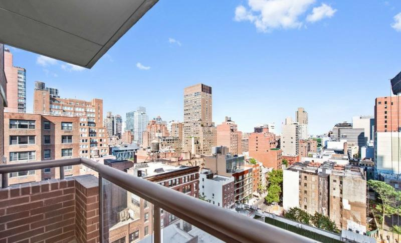 Stunning view from 300 East 62nd Street in NYC