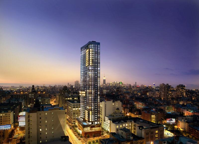 Trump soho condominium hotel 246 spring street soho for Condominium for sale in nyc