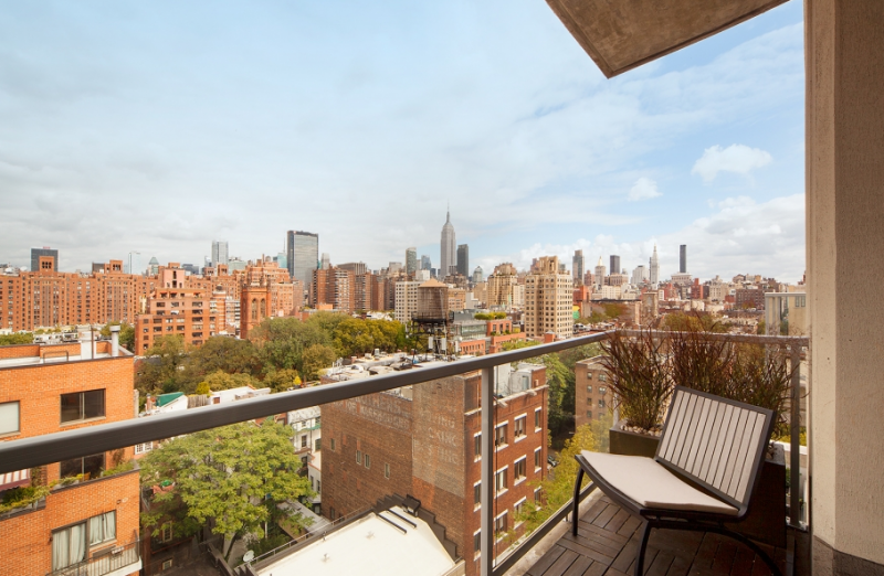 View from balcony- 444 West 19th Street
