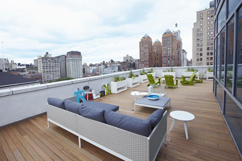 Terrace at Claremont Square - NYC Condominiums for Sale