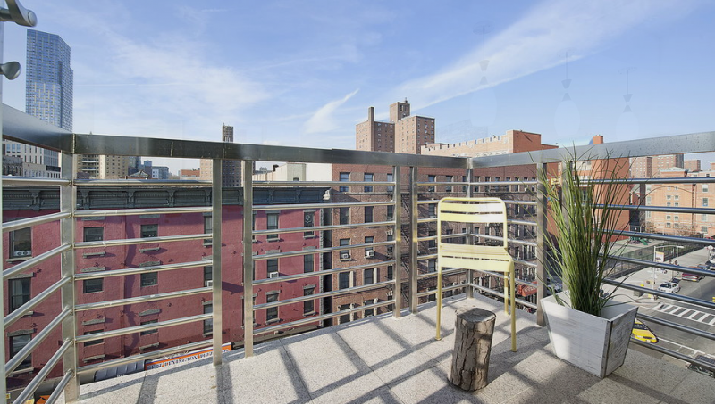 Balcony at Lexington Hill Condominium- condo for sale in NYC