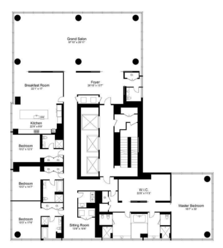 4 Bedroom Apartments Nyc: Midtown West Condos For Sale