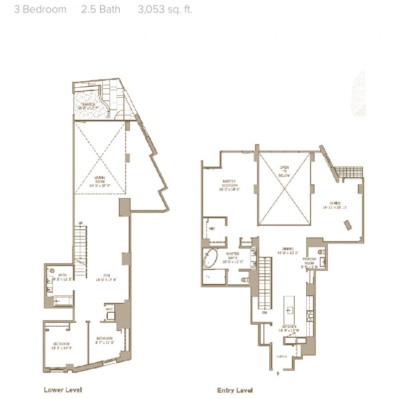 Pierhouse 90 Furman Street – Pier House Floor Plans