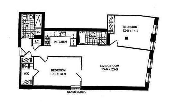 The walton 264 water street financial district condos for Walton house floor plan