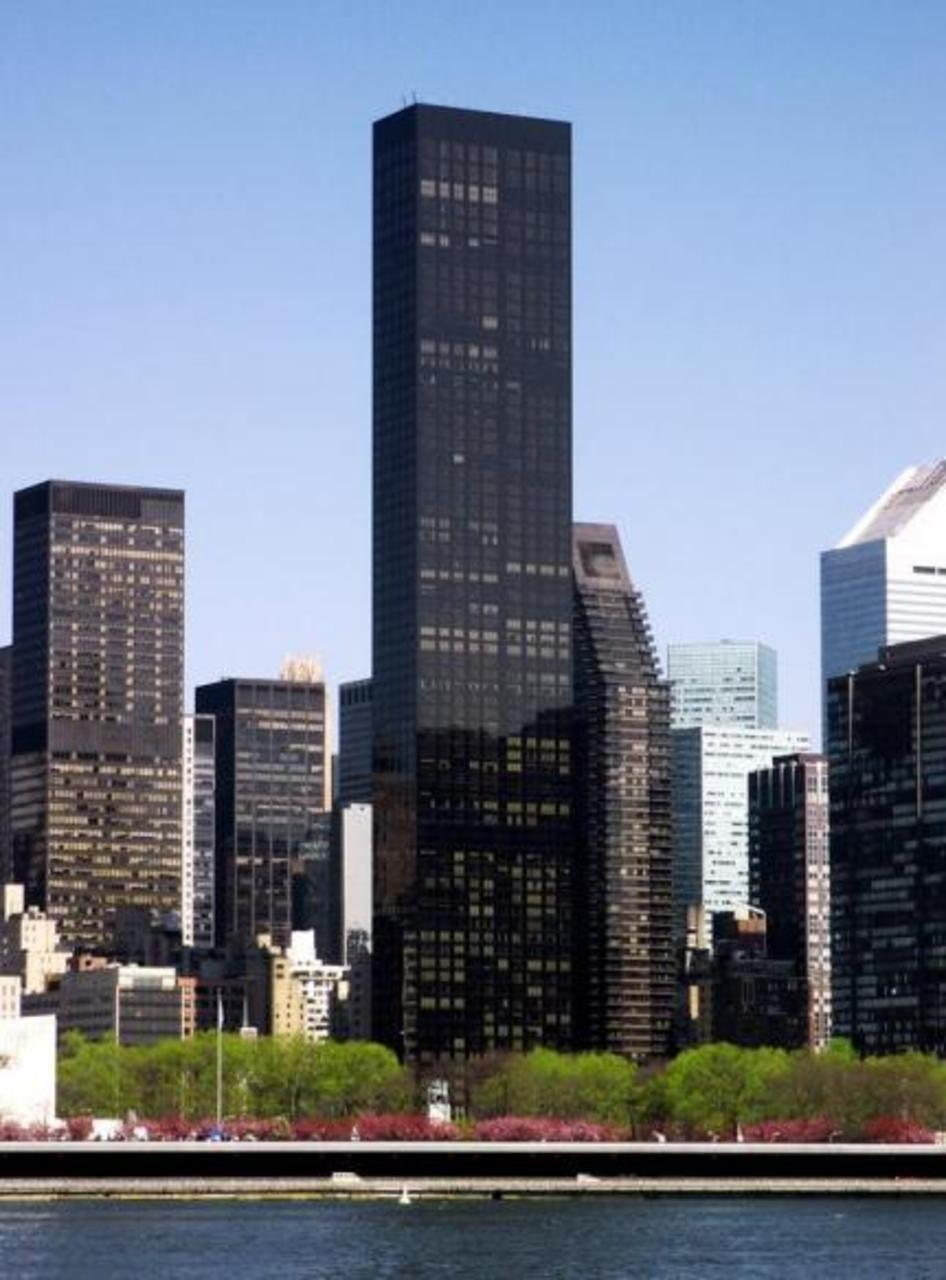The Trump World Tower 845 United Nations Plaza Midtown