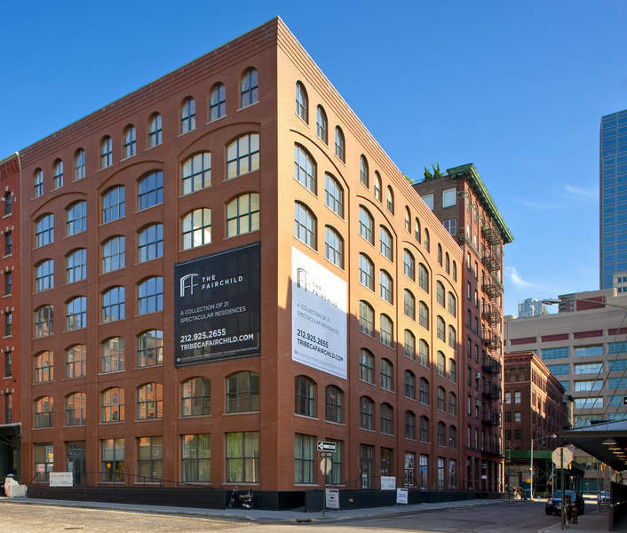 The fairchild 55 vestry street tribeca condos for sale for Apartments in tribeca nyc