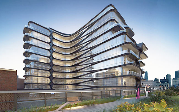 Lower manhattan 39 s unique homes the future is now new for Zaha hadid new york apartment