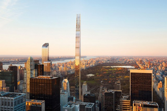 New Rendering for Ultra-Luxe 111 West 57th Street Tower in Midtown Manhattan
