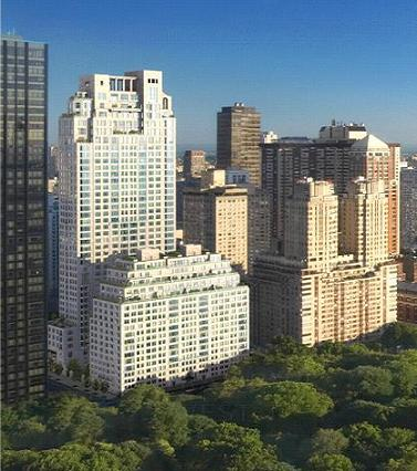 15 Central Park West in Manhattan