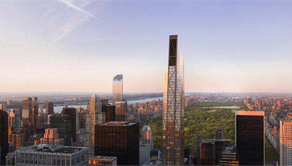 New Renderings of The MoMA Tower, a New Luxury Condominium Construction on Central Park South