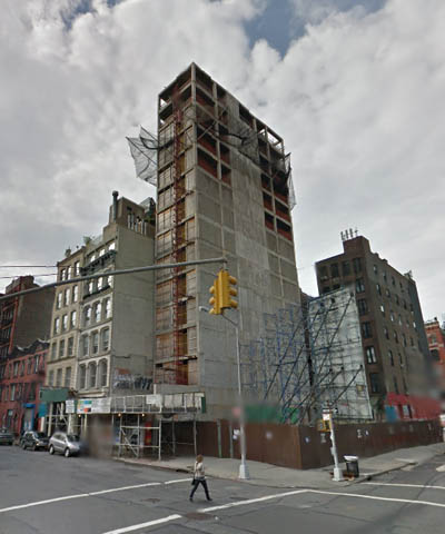 25 Great Jones Street Construction