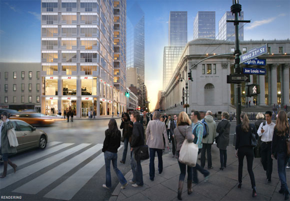 415 Eighth Ave Rendering