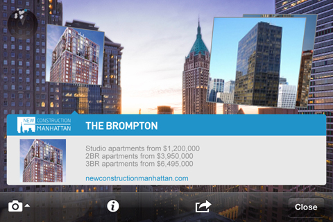 NewConstructionManhattan augmented reality Layar app