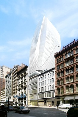 Glass designed building in Flatiron District gets second opportunity
