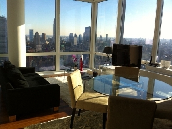 A rental apartment in Silver Towers that was originally designed to be a condo