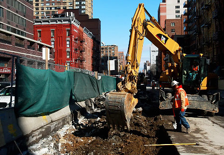 Upper East Side Subway Construction