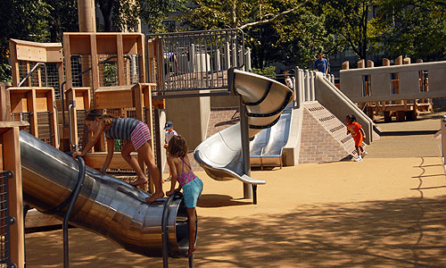 New developments build private playgrounds for apartment  buyers