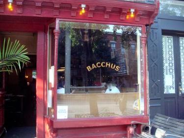 Bacchus Cafe Hours