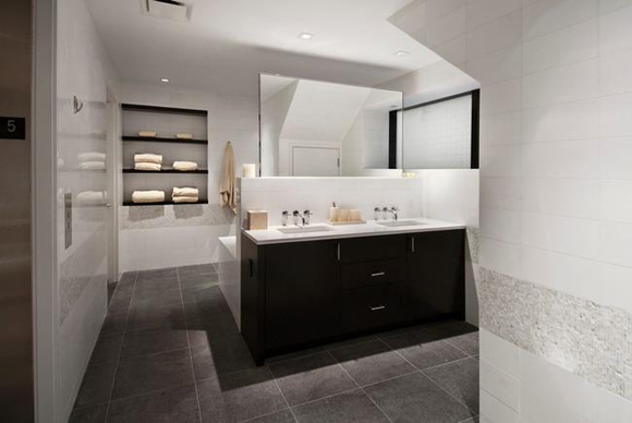 441 East 57th Street showcases modern, luxurious, spa-like master baths