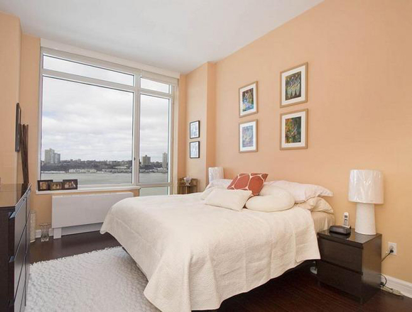 Bedroom View from The Avery at 100 Riverside Boulevard